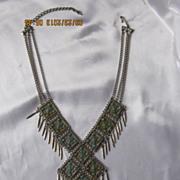 Vintage Faux Turquoise Necklace