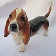"Beswick Basset Hound Dog 8"""