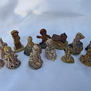 13 Wade England Miniature Figurines