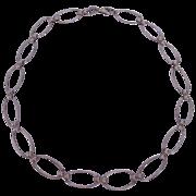 """Vintage Sterling Necklace 16"""""""