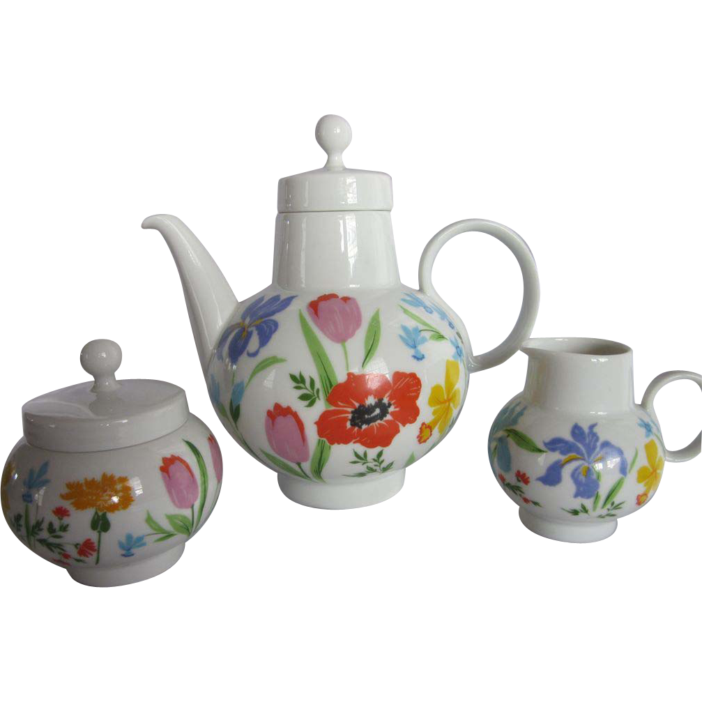 Heinrich Bavaria Primavera Tea Set