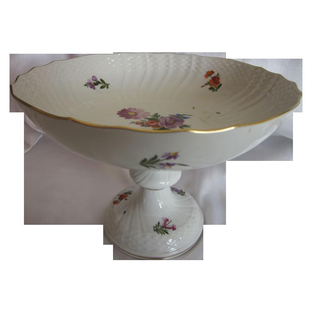 Royal Copenhagen Porcelain Compote