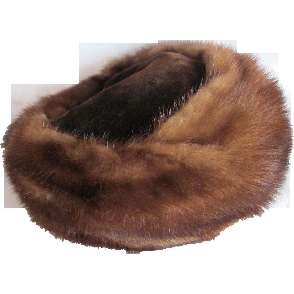 Vintage Fur Hat 95