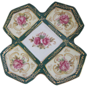 Rare Royal Sealy Pink Roses Dish