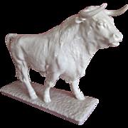Rare  Hutschenreuther Bull Figurine