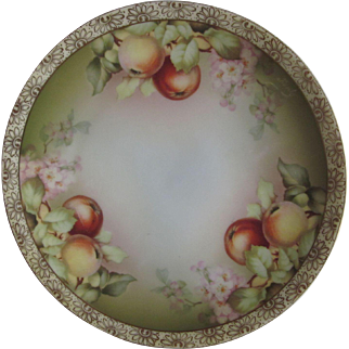 Old Thomas Bavaria Apples Plate