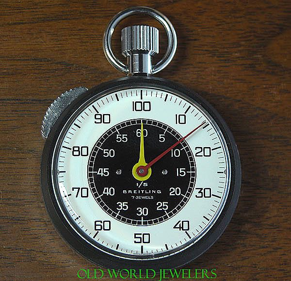 Vintage New Old Stock Breitling Stopwatch 1615