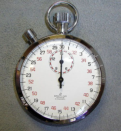 Vintage New Old Stock Breitling Stopwatch 3534