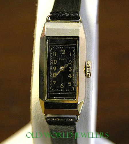 Lady's Vintage CYMA 14K Wristwatch
