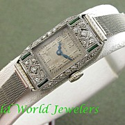 Elegant Elgin Lady's Watch Art Deco Circa 1920's