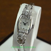 14K New Old Stock Frey Lady's Diamond Watch