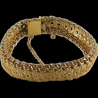Vintage Gold Plated Bracelet
