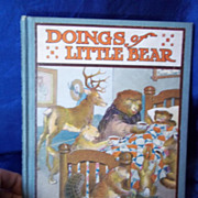 "1915 Edition of ""Doings of Little Bear"" by Frances M. Fox"