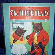 """The Three Bears"" Whitman's children's Book in Original Box circa 1927"