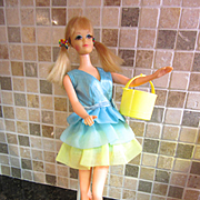 "Vintage Mod Barbie ""Dreamy Blues"""