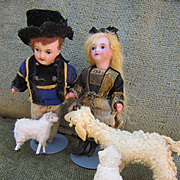 Miniature Antique German Sheep