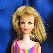 Vintage Mattel Francie in Original Swimsuit