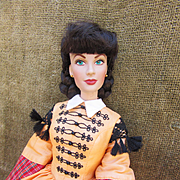 Franklin Mint Vinyl Scarlet O'Hara Gone with the Wind