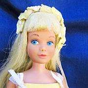 Mattel Vintage Lemon Blonde Skipper in Flower Girl