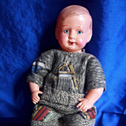 "8"" Celluloid Baby Doll"