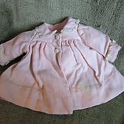 Factory Vintage Coat for Medium DyDee Baby or Tiny Tears