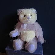 Knickerbocker Purple Mohair Bear