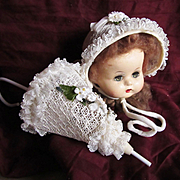 Fifties Straw Hat and Parasol Purse