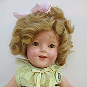 """18"""" All Original Ideal Shirley Temple"""