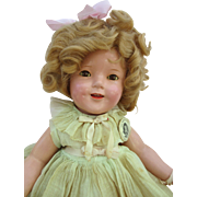 """18"""" All Original Ideal Shirley Temple - Red Tag Sale Item"""