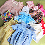 Lot of doll Clothing, Some Factory