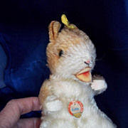 """1950's """"Goldy"""" Steiff Hamster"""