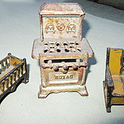 Cast Iron Dollhouse Furniture