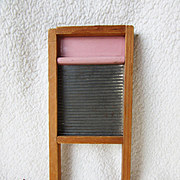Tiny Doll Laundry Washboard