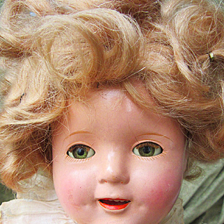 """Instant Shirley Temple Collection with 17"""" doll"""