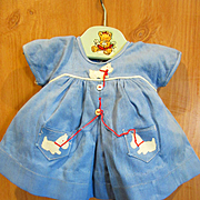 Tagged NRA Shirley Temple Scottie Dog Dress for Larger Shirley