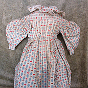 Antique Dress for China or German Doll