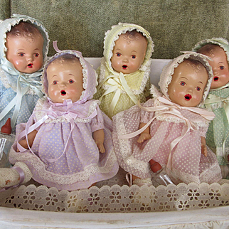 Dionne Quints Composition Dolls