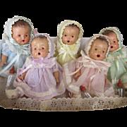 Dionne Quints Composition Dolls