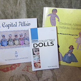 Group of Three Doll Collector Books