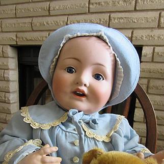 Antique Franz Schmidt Life size Baby