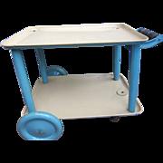 Doll's Midcentury Metal Teacart or Nurse's Cart