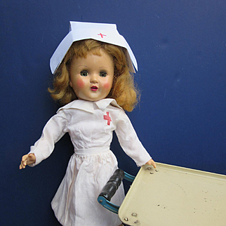 Nurse Dress for 15 Inch Doll