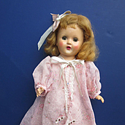 Robe, Gown and Slippers for MidCentury Dol