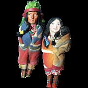 Vintage Skookum Couple
