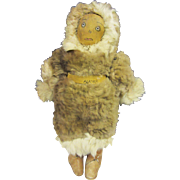 Vintage Native American Inuit  Eskimo Doll