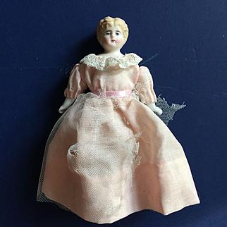 Antique Dollhouse  blond china