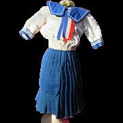 Vintage Sailor Costume for a Slim Doll
