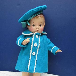 Vintage Effanbee Patsy with Wardrobe
