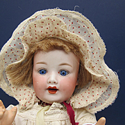Vintage Frilly Doll Bonnett