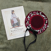 Pleasant Company American Girl  Samantha Book and Hat